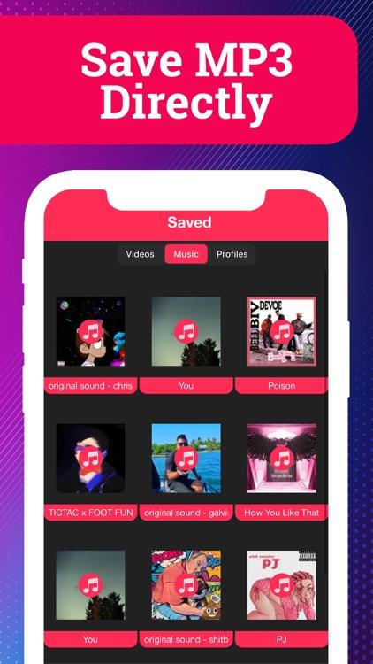 SaveTik: Save & Repost Video screenshot-5