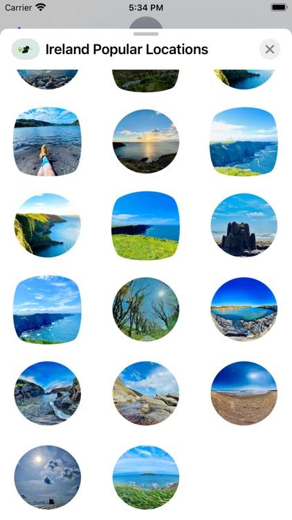 Ireland - Locations Stickers screenshot-7