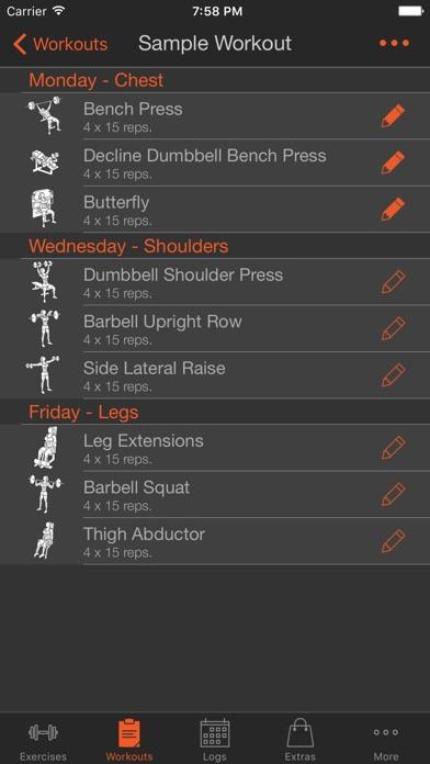 Fitness Point Pro Female Screenshots
