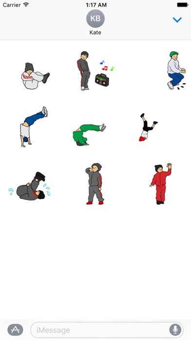 Hip-Hop Animated Stickers screenshot two