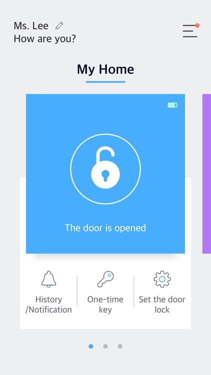 sHome Doorlock.