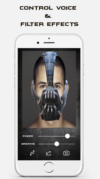 Bane Voice Changer Face Filter