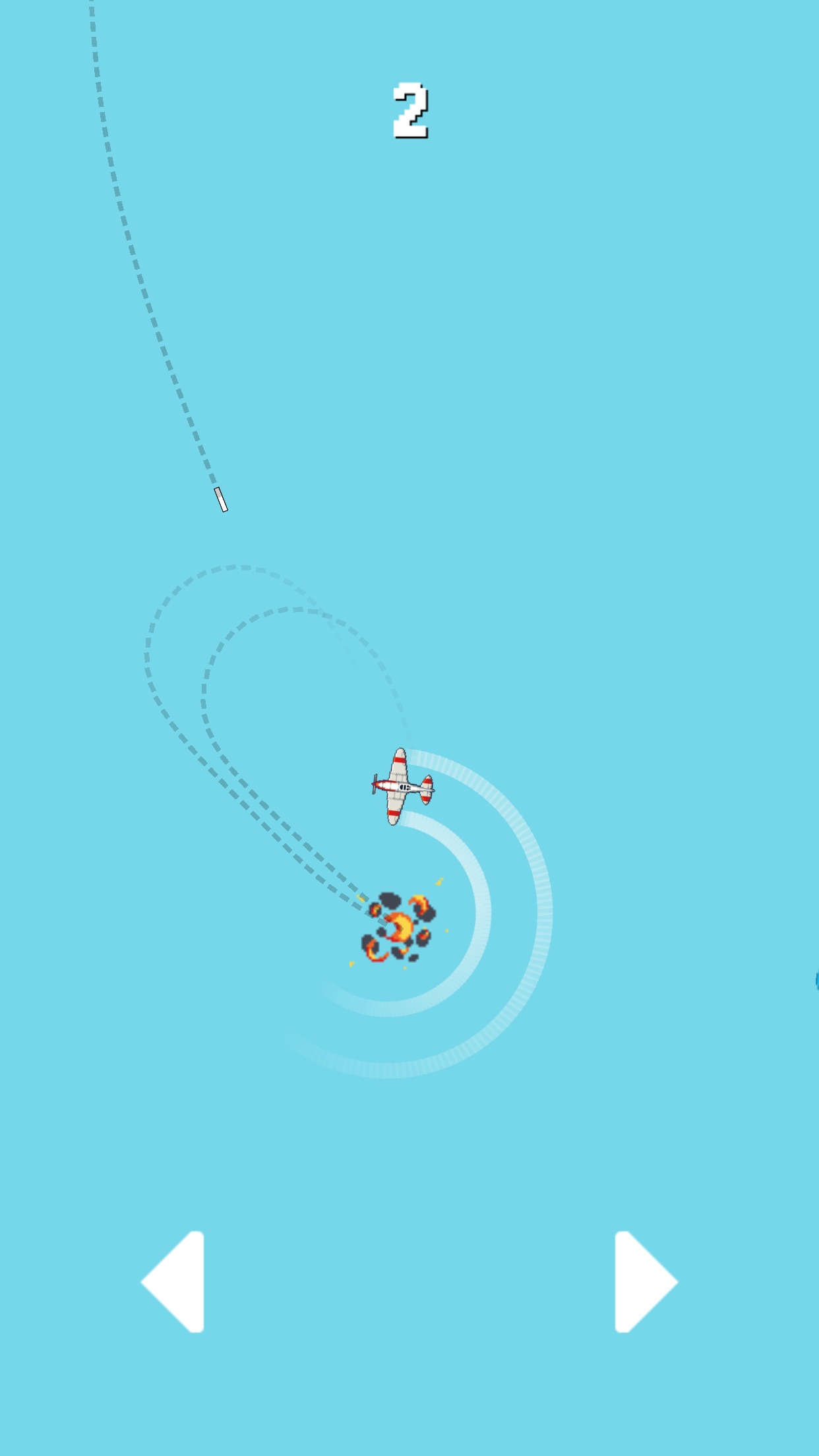 Screenshot do app Missile in a Watch Game
