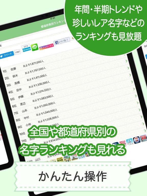 名字由来net 〜全国都道府県ランキングや家紋家系図のおすすめ画像6