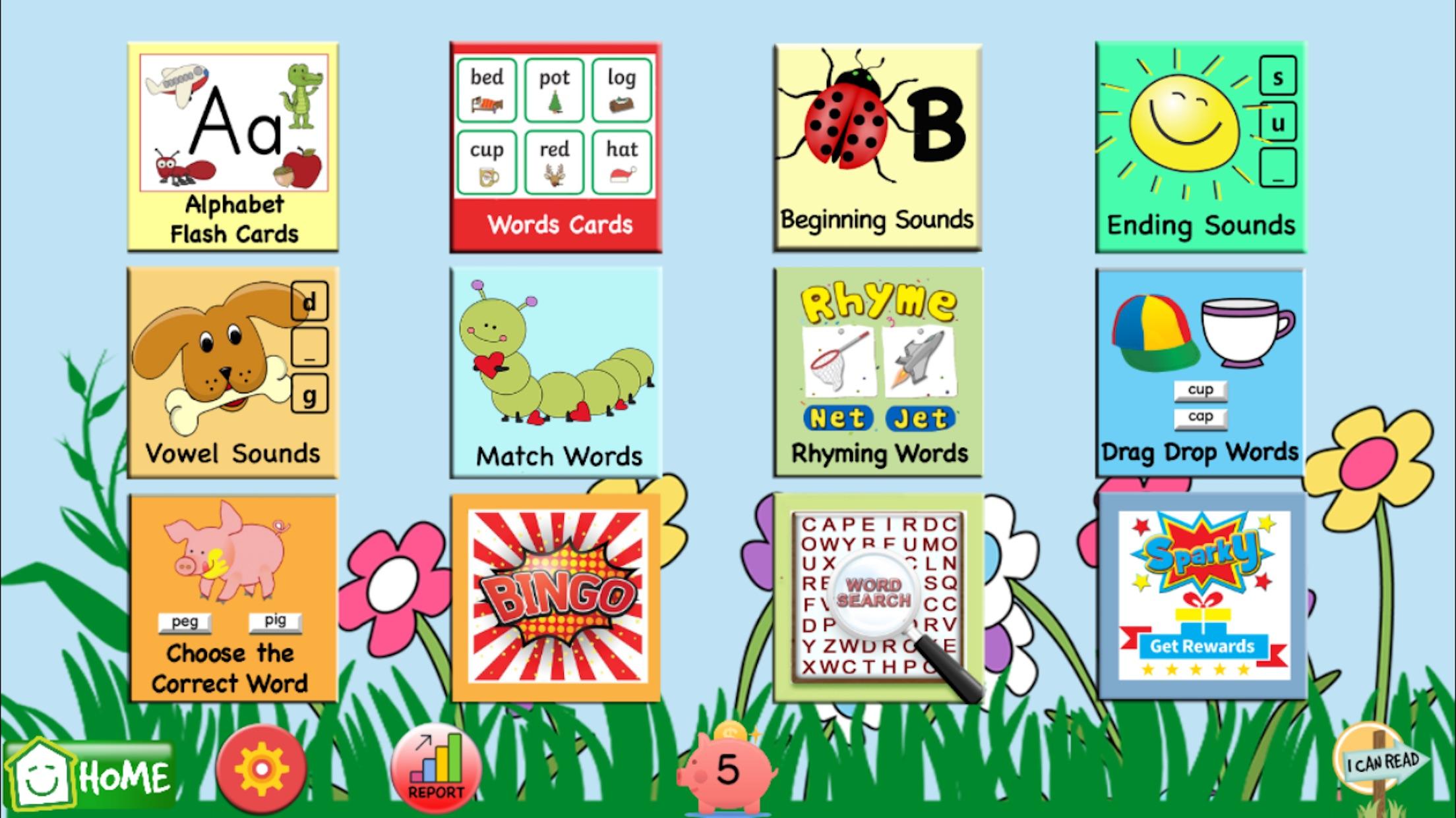 Learn How to Read CVC Words Screenshot