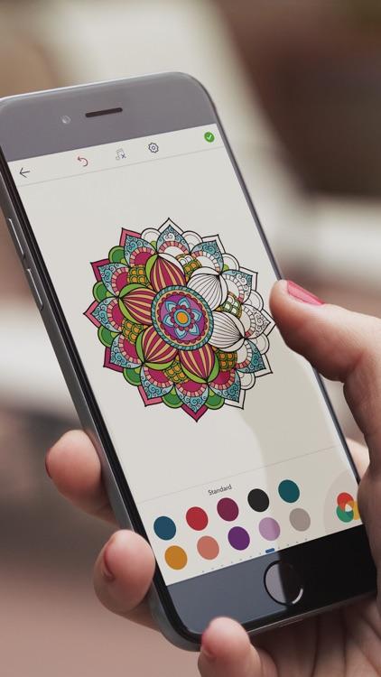 Mandala Coloring Pages !
