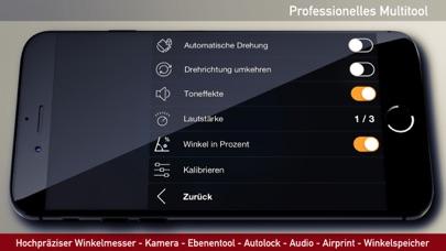 Winkelmesser, Wasserwaage AppScreenshot von 7