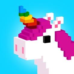 unicorn 3d color by number 4 - Unicorn Pics