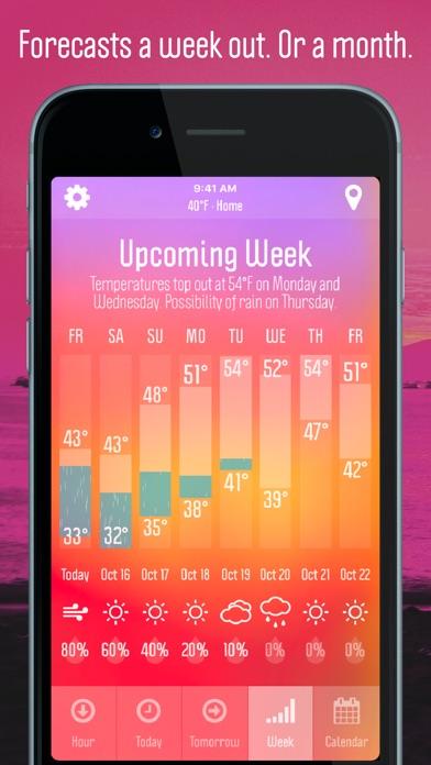Weather Nerd review screenshots