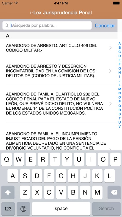 i-Lex Jurisprudencia Penal screenshot-1