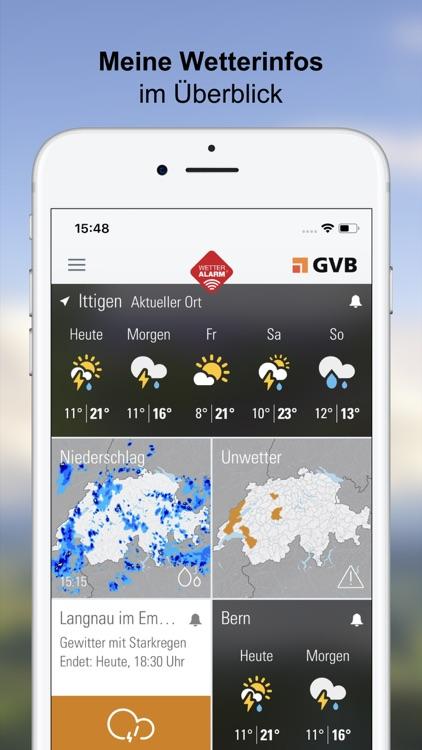 Wetter-Alarm: Wetter & Alarme