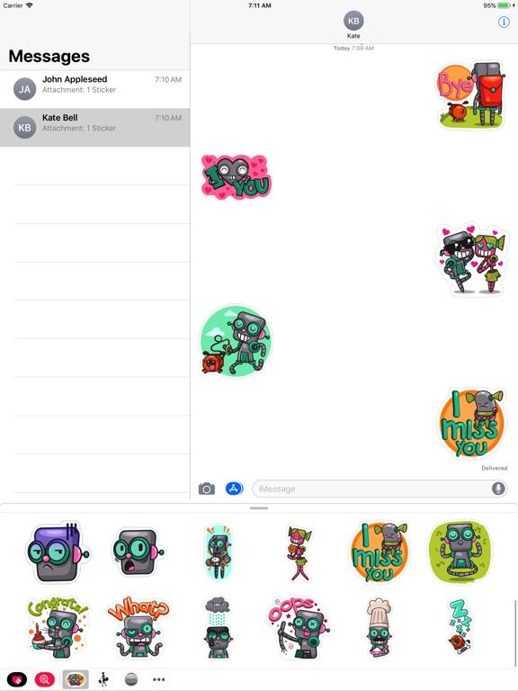 Robot Love Pack screenshot 4