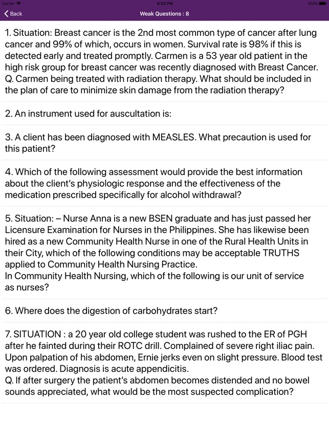 Nclex-RN Mock 10000 Questions on the App Store