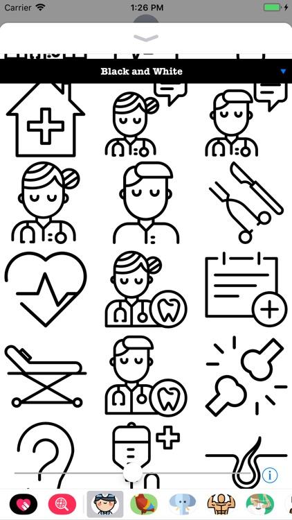 Doctor Stickers HD screenshot-3