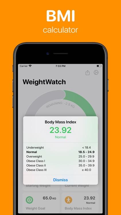 WeightWatch: Weight Tracker screenshot-5