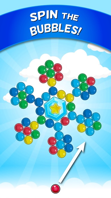 Bubble Cloud: Spinning Bubbles Скриншоты3