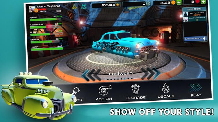 Rocket Carz Racing screenshot-4