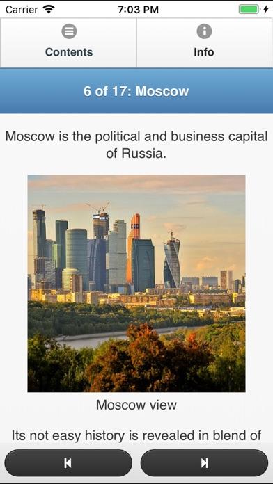 Russia Travel Fan Guide Скриншоты5