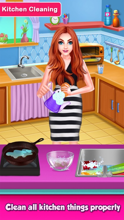 MagicWomen House Cleaning Game