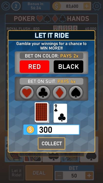 Video Poker Multi Bonus screenshot-6