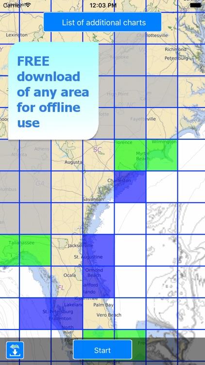 Aqua Map US - Nautical GPS screenshot-5