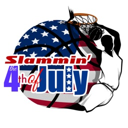 Basketball 4th of July Sticker