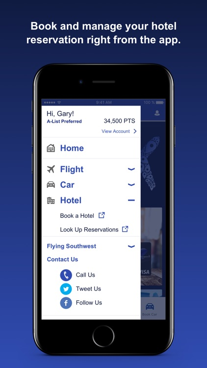 Southwest Airlines screenshot-3