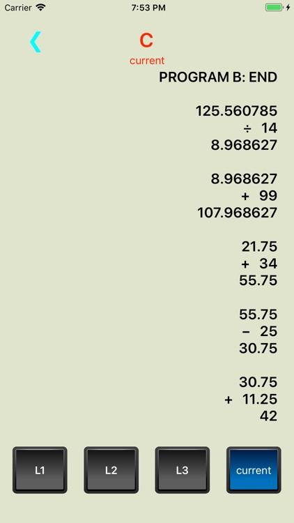 Active RPN Calculator screenshot-4