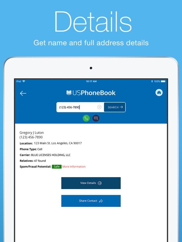USPhoneBook: Reverse Caller ID - Online Game Hack and Cheat   Gehack com