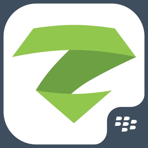 zIPS for BlackBerry iOS App