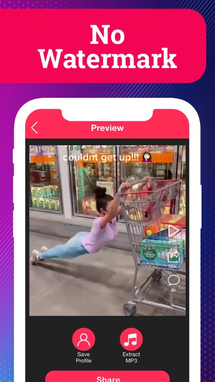 SaveTik: Save & Repost Video screenshot-4