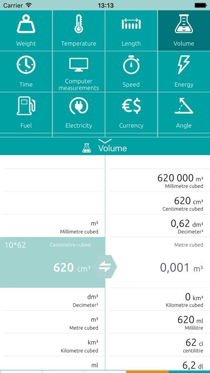 Unit converter - Calculator screenshot-5