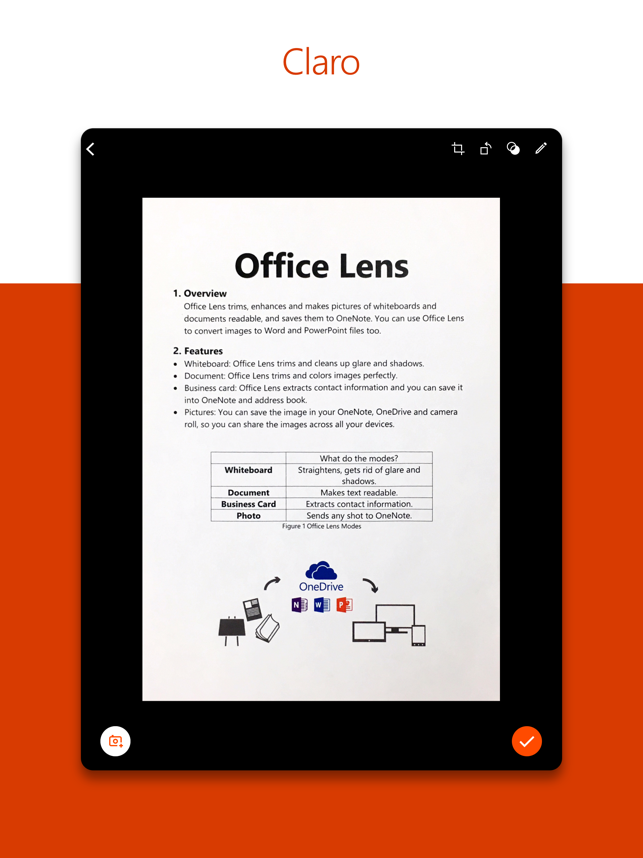 ‎Microsoft Office Lens|PDF Scan Screenshot