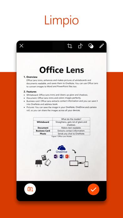 Microsoft Office Lens PDF Scan