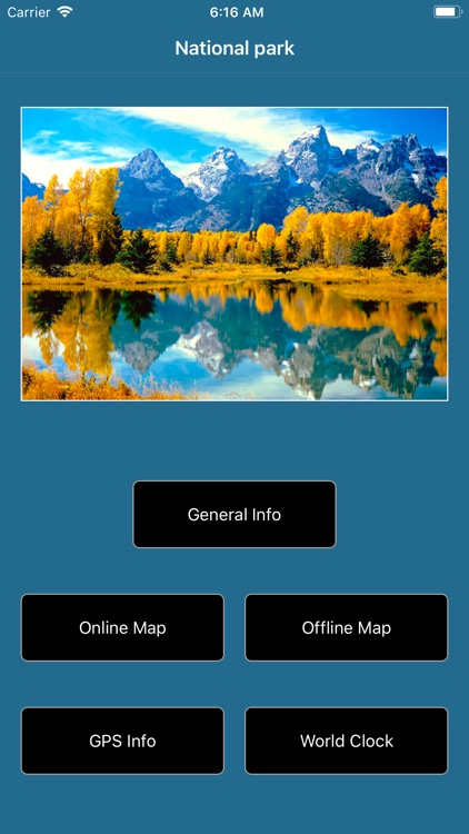 Grand Teton National Park Map! screenshot-1