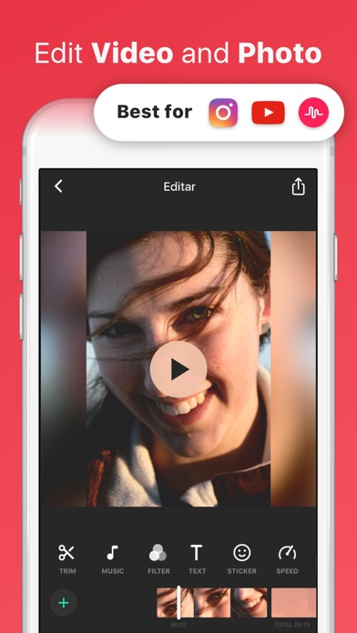 Download InShot Video Editor Music, Cut for Pc
