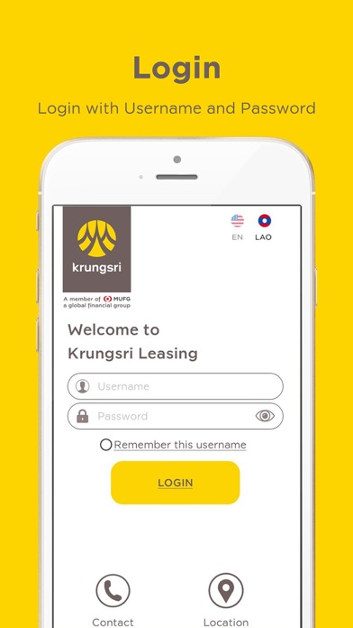 Krungsri Leasing Laos screenshot one
