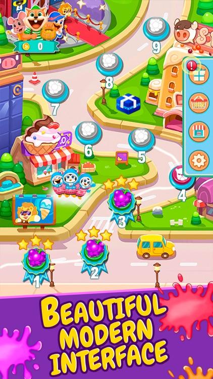 Fruit Shake - Match 3 Game screenshot-4