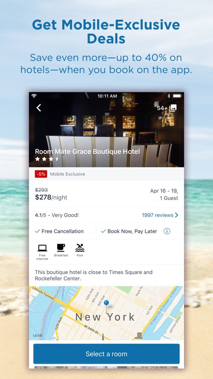 CheapTickets Hotels & Flights screenshot-1