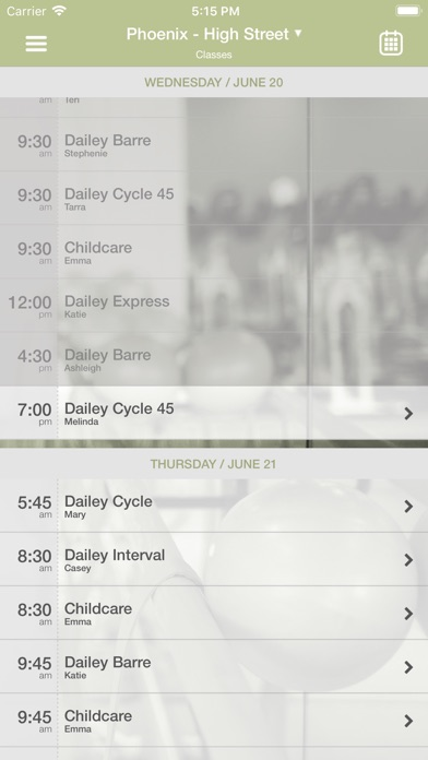 The Dailey Method Screenshot