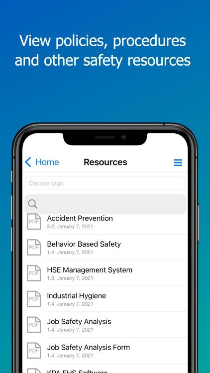 KPA EHS: Safety Management screenshot-3