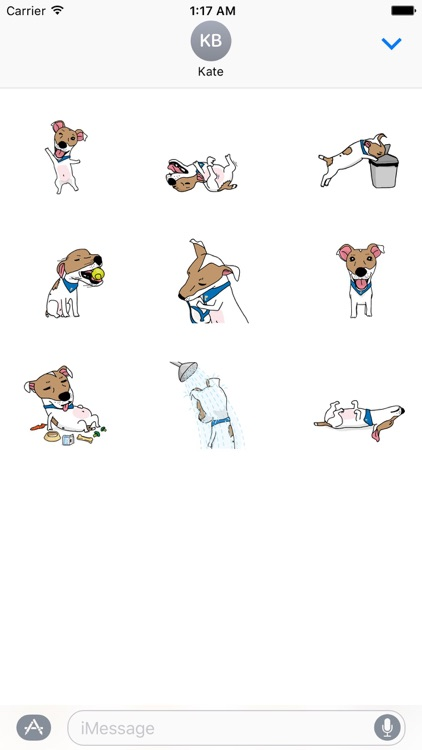 Bailey The Dog Stickers