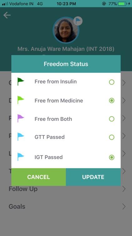Freedom From Diabetes App screenshot-4