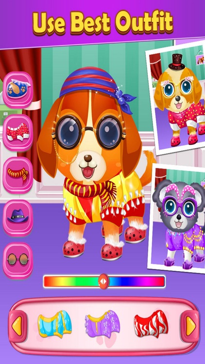 My Pet Care Salon Dress Up