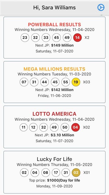 USA Lottery Journal screenshot-5