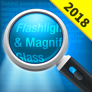 Magnifying Glass Pro (Torch) app