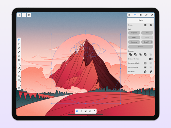 Amadine - Vector Illustration screenshot