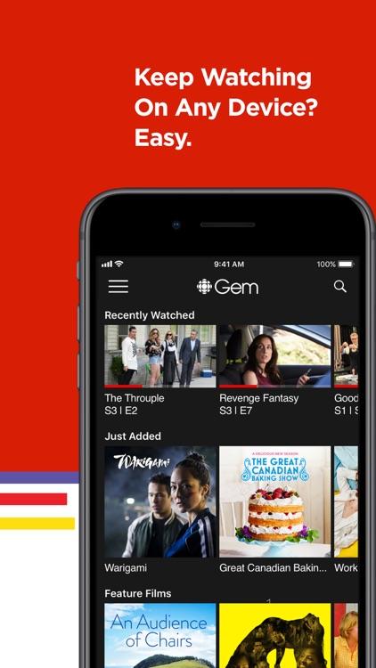 CBC Gem: Stream Movies & TV screenshot-7