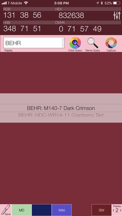 Color Query Pro screenshot-0