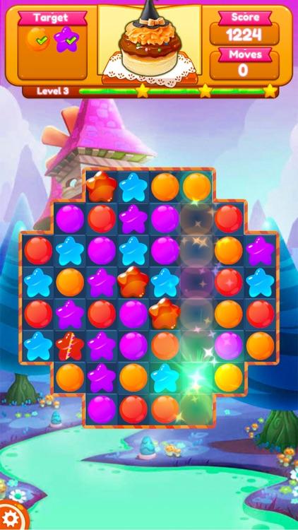 Sweet Candy Blast Fruit puzzle screenshot-7
